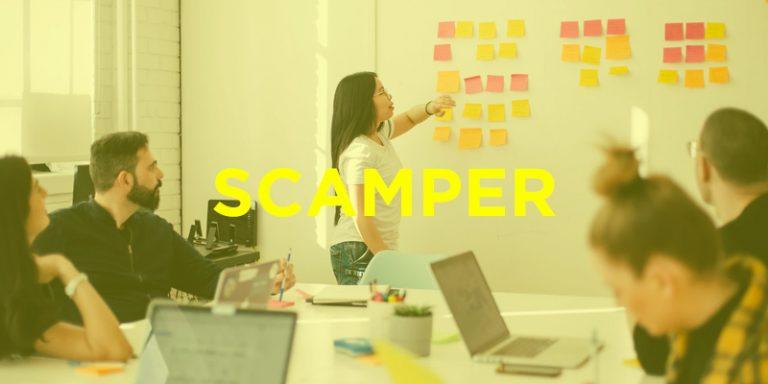 ▷ SCAMPER, una técnica de creatividad para generar ideas