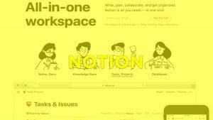 NOTION, aplicación de productividad personal que te permite crear tu propio espacio de trabajo en la nube