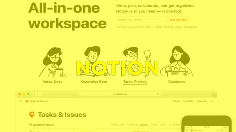▷ NOTION, aplicación de productividad personal que te permite crear tu propio espacio de trabajo en la nube