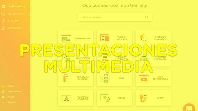 ▷ GENIALLY, una herramienta para hacer presentaciones interactivas