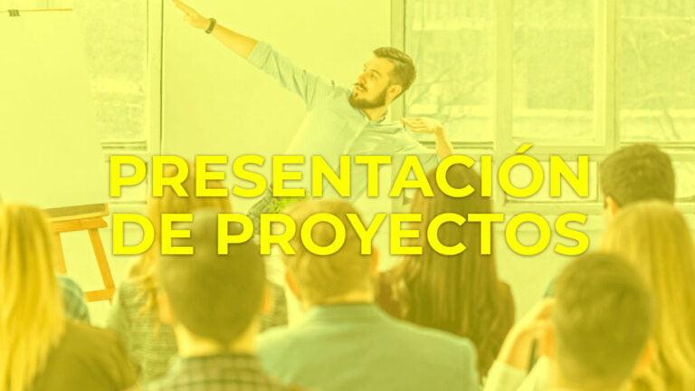 Técnicas para realizar la presentación de un proyecto en público